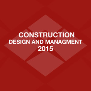 Construction Design and Management 2015